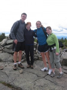 The Kinsman hiking crew