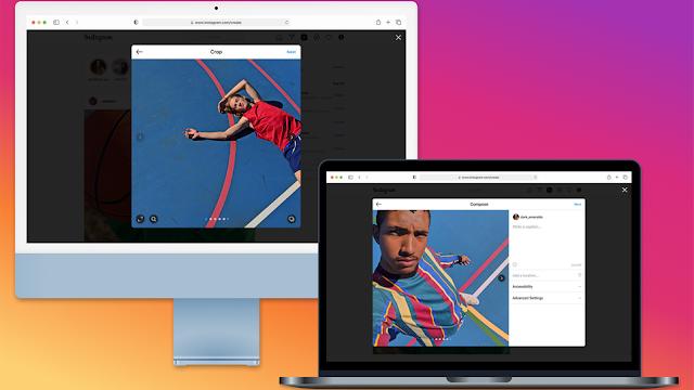 Instagram: da oggi è possibile caricare foto e video direttamente dal PC