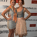 OIC - ENTSIMAGES.COM - Danielle Evon Ploeger and Akasha Villalobos at the Film4 Frightfest on Monday   of  Last girl standing UK Film Premiere at the Vue West End in London on the 31st  August 2015. Photo Mobis Photos/OIC 0203 174 1069