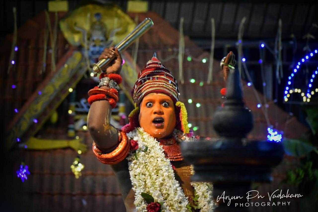Kuttichathan Theyyam - കുട്ടിച്ചാത്തന് തെയ്യം 6