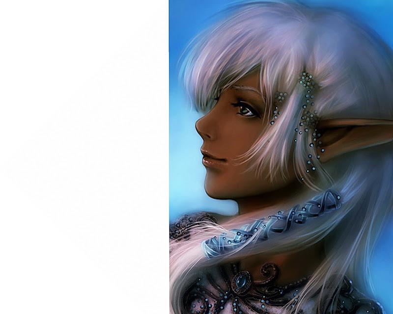 Elf Beauty Girl, Elven Girls