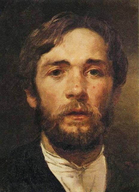 Andrei Ryabushkin - Self-Portrait.