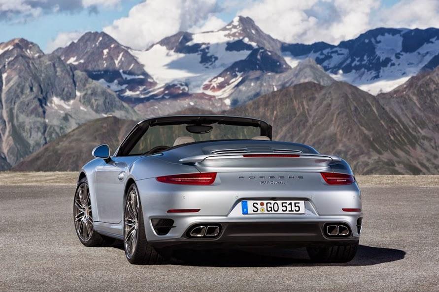 2014 Porsche 911 Turbo Cabriolet 8