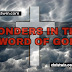 WONDERS IN THE WORD OF GOD