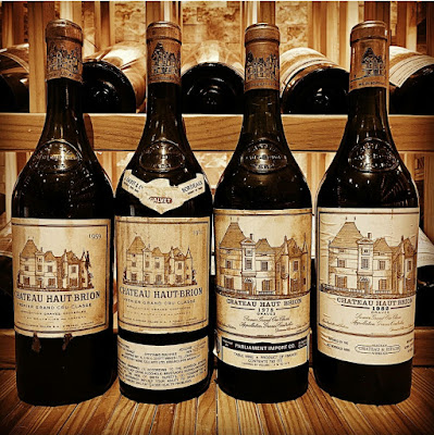 Chateau Haut-Brion 1955 1961 1978 1982  bottles shot by ©LeDomduVin 2020