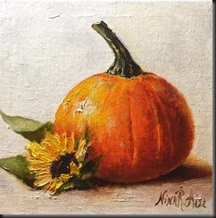 Pumpkin and Sunfower