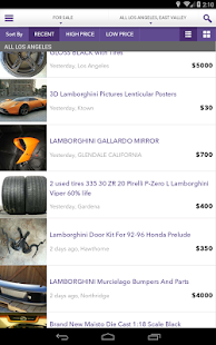 Mokriya Craigslist Android app- screenshot thumbnail