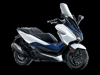 Motor Honda Foza Warna Putih