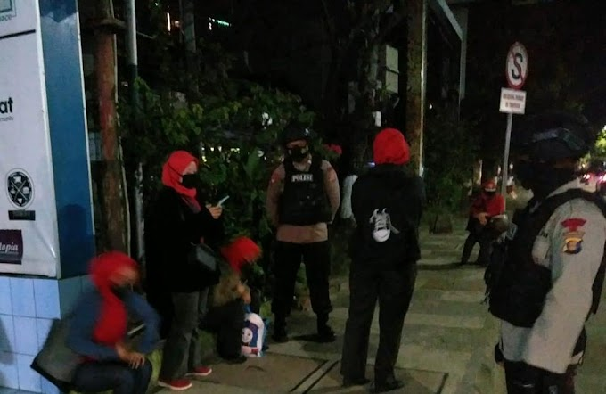 Patroli Malam Hari Brimob, Ciptakan Kondisifitas Wilayah Balikpapan