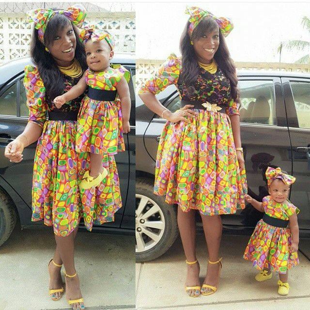 THE ENVIABLE ANKARA LADIES STYLES YOU SHOULD STEAL FROM MUM AND DAUGHTER IN 2018 2