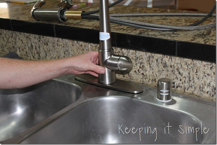 Faucet installation kitchen moen How to