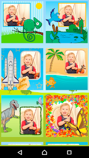 Kids Photo Frames - effects- screenshot thumbnail