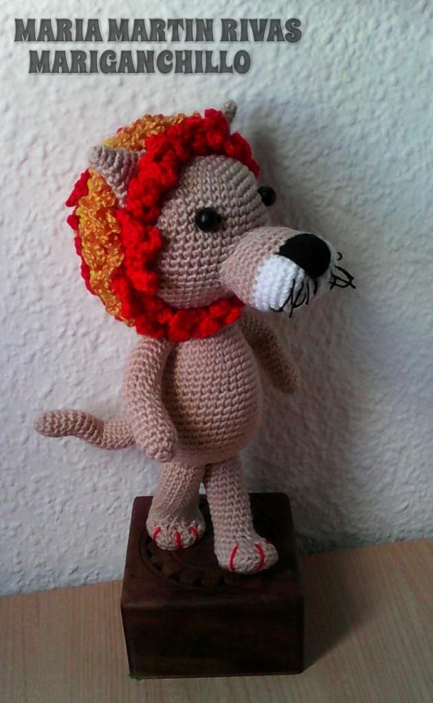 Vistoso León Patrones De Hilo Crochet Colección - Ideas de Patrones ...