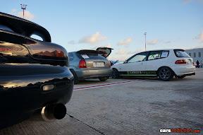Mazda Rx7 and Honda Civic