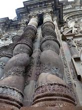 Photo: Columns in high baroque style, Compania de Jesus