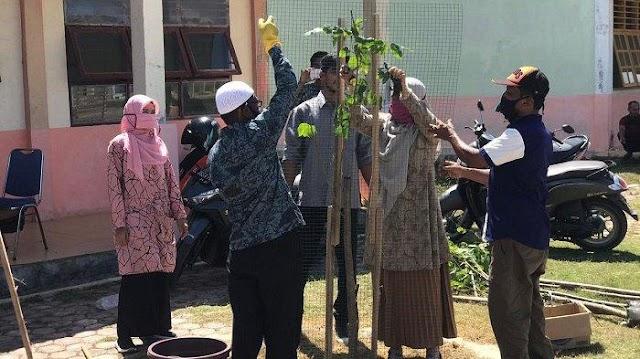 Aceh Timur Gencarkan Tanam Pohon Besar di Sekolah, Bagian dari Gerakan Penghijauan Sekolah