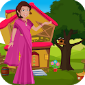 Best Escape Games22-South Indian Woman Rescue Game icon