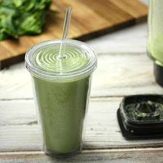 Pineapple & Spinach Smoothie.