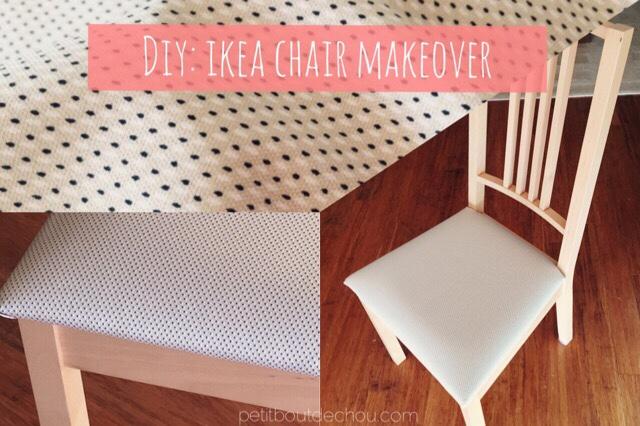 Diy Ikea Chair Makeover Petit Bout De Chou