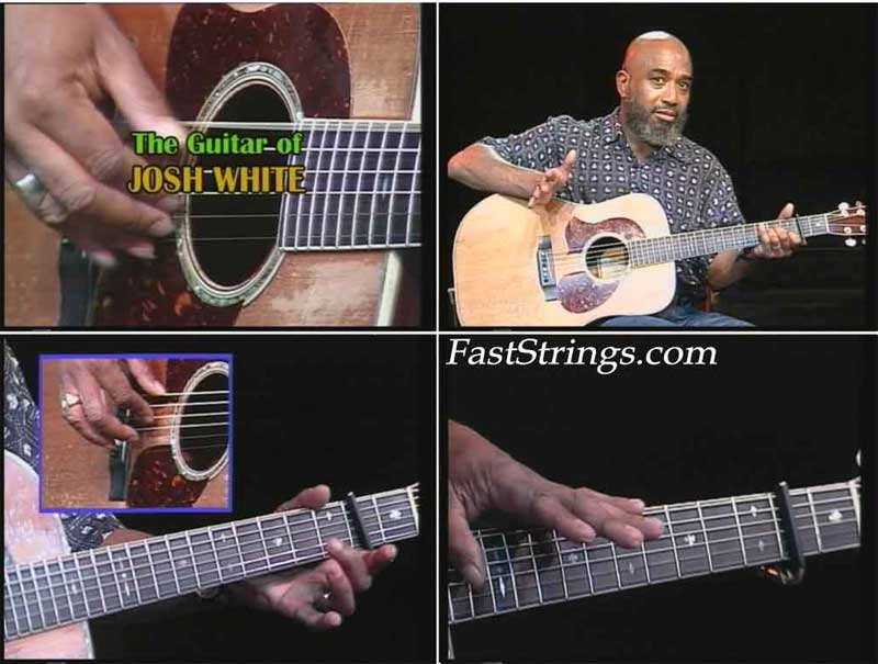 The Legendary Blues Guitar of Josh White taught by Josh White, Jr.