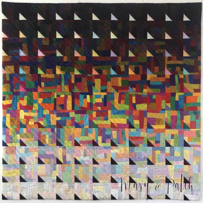Fragments 5, Maryline Collioud-Robert, art quilt