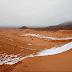सऊदी  अरब में रेत हुयी सफेद ,बर्फबारी से माईनस 2 दीगृत्कपहुंच गया पारा ,वीडियो