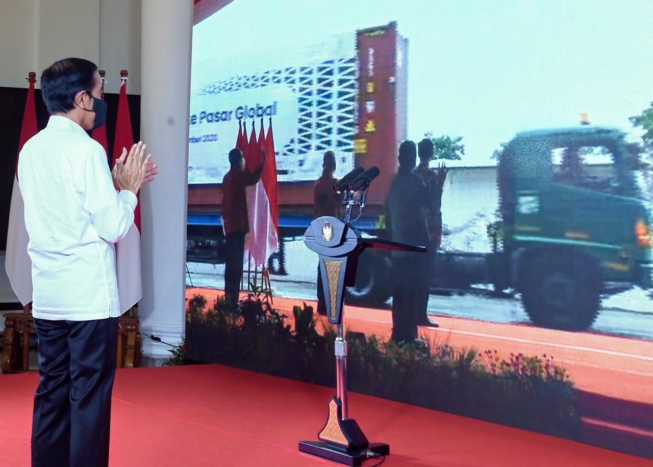 Presiden Jokowi Ingatkan Jangan Cepat Puas, Potensi Pasar Ekspor Masih Terbuka Lebar