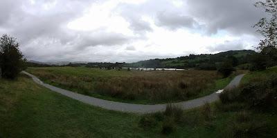 path and lake