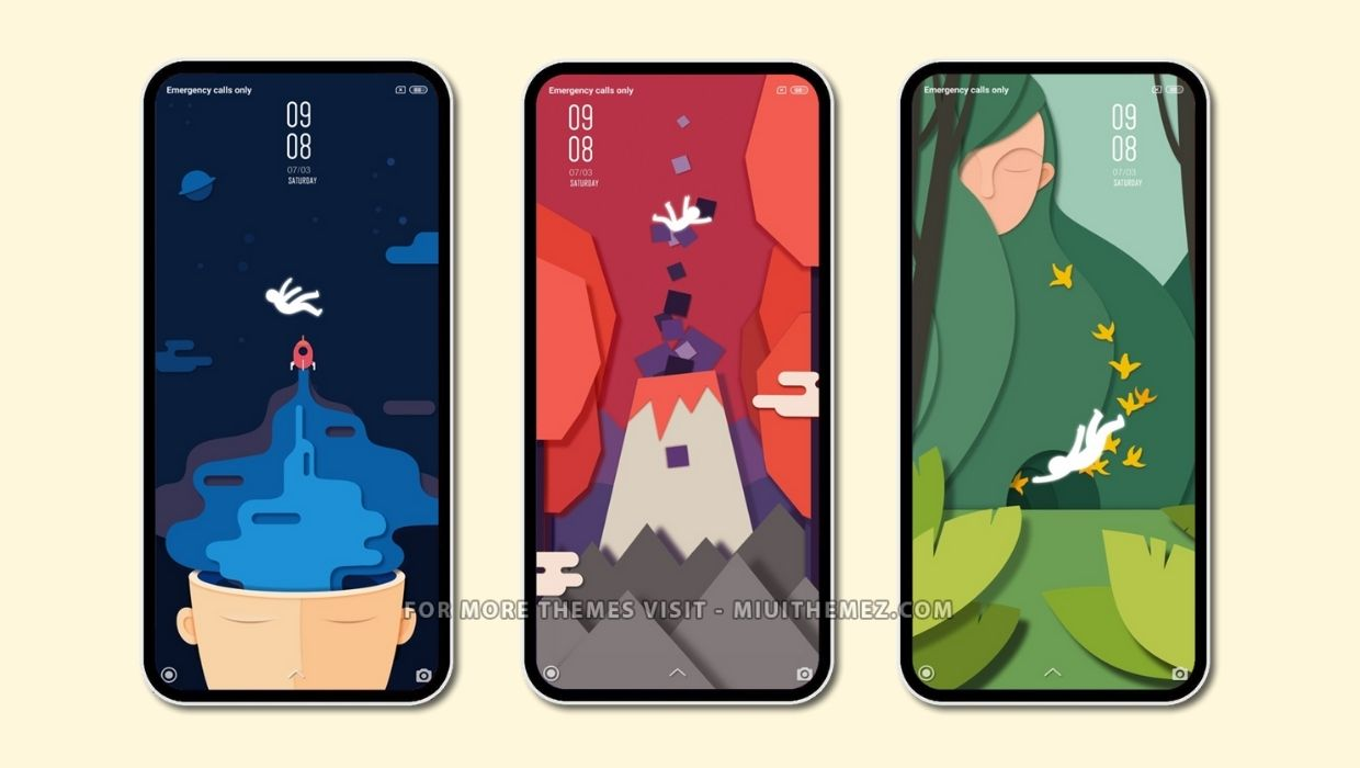 World of Paper MIUI Theme