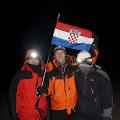 Hrvatska zastava vijori se na vrhu