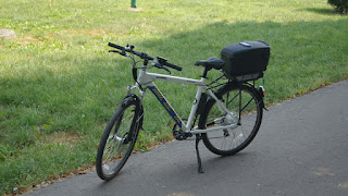 Straż Miejska - Rower elektryczny