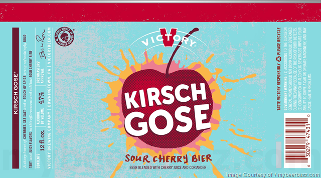 Victory Kirsch Gose 12oz Cans