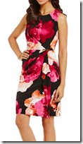 Calvin Klein Matte Jersey Sheath Dress