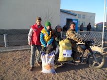 Zorigtbaatar Baasanjav s rodinou. Foto: Archiv Člověka v tísni
