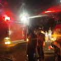 Ditinggal Pemilik,Rumah  Permanen di Simpang Tiga Perbaungan Terbakar