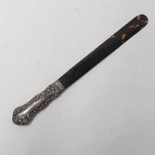 Edward Barton  Sterling Silver Shoe Horn