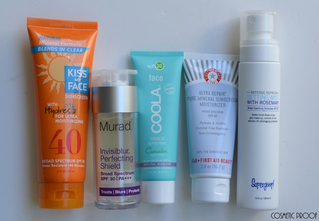 Sunscreen Review Kiss My Face Murad Coola First Aid Beauty Supergoop (2)