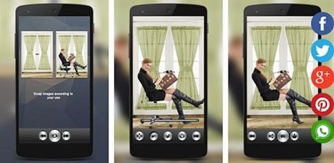 Beberapa dari kau mungkin pernah melihat foto dengan objek atau orang yang terlihat seda Cara Membuat Foto Terbang Di Android (Levitasi)