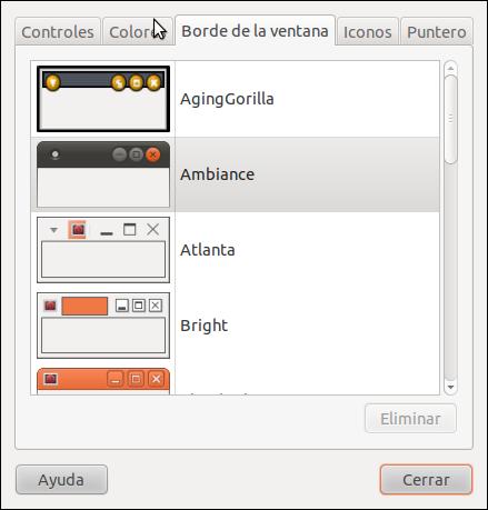 Personalizar tema ubuntu