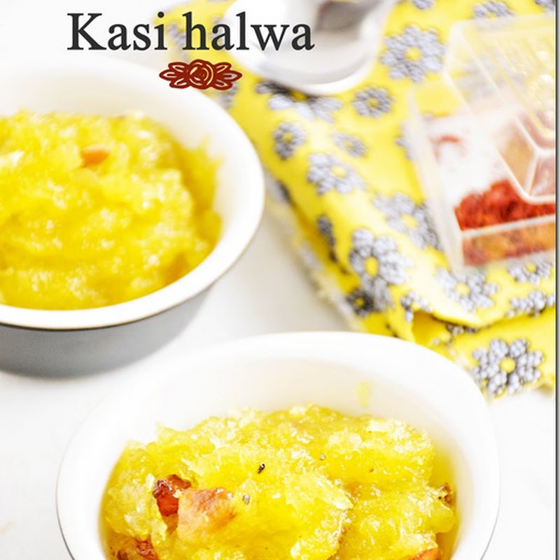 Kasi halwa / Poosanikai halwa (Happy Tamil New Year 2016)