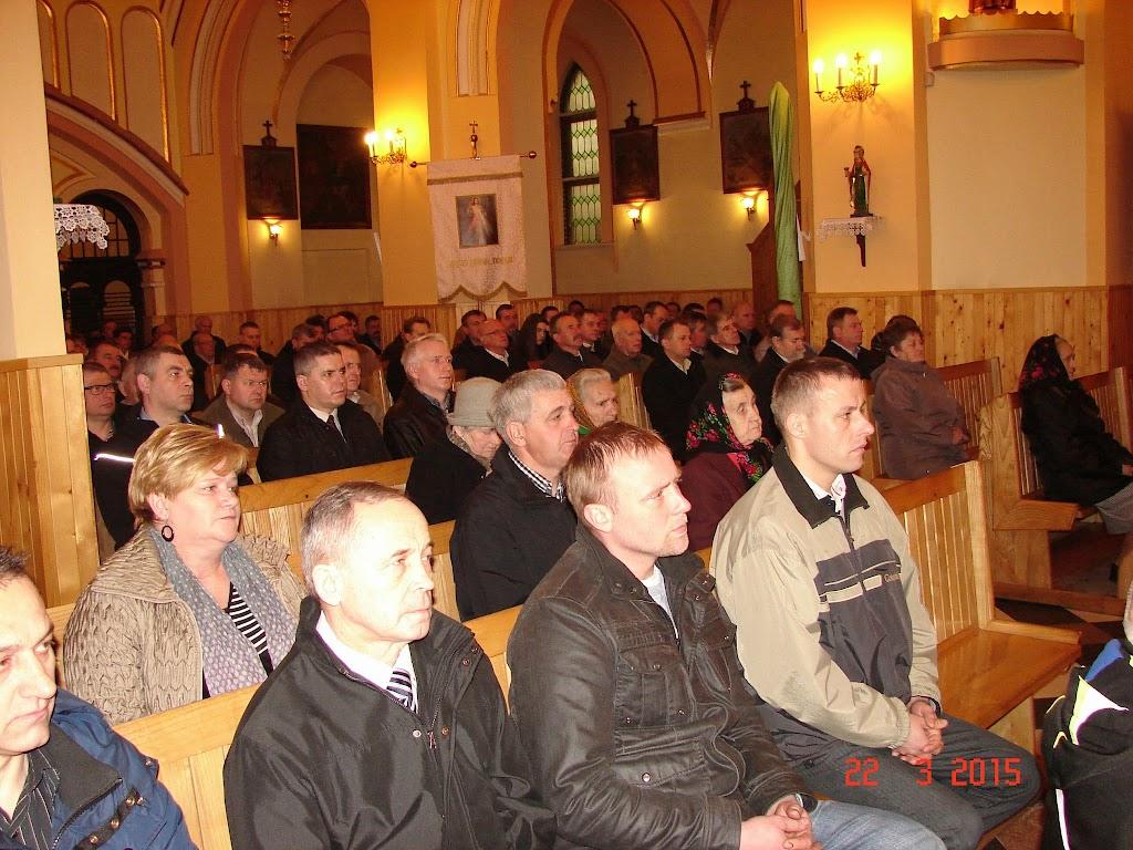 Klecza Dolna, drugi dzień rekolekcji, 22.03.2015 - DSC00470.JPG