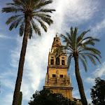 La Mezquita - katedra w Kordobie, były minater, dziś dzwonnica