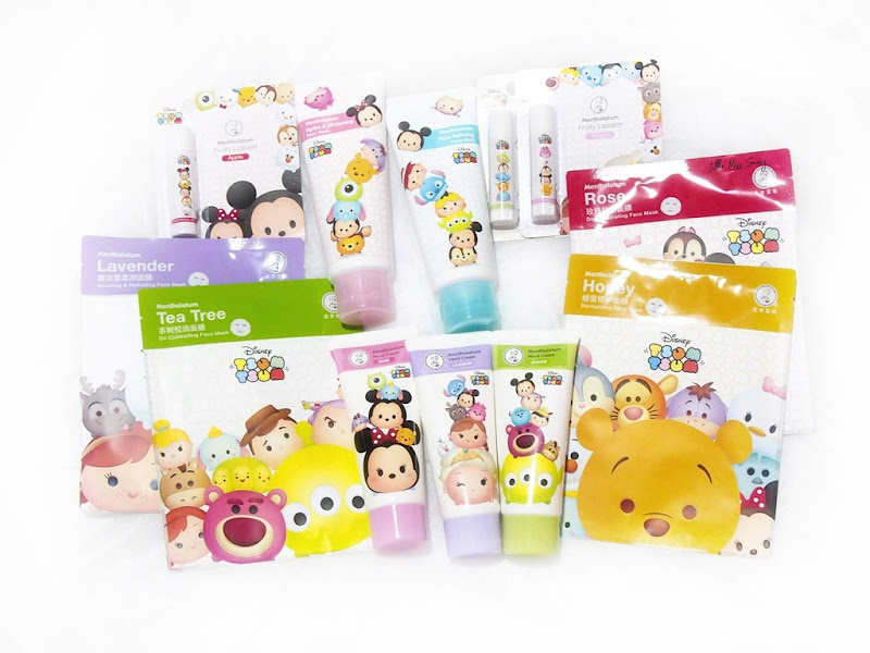 Mentholatum Disney Tsum Tsum collection