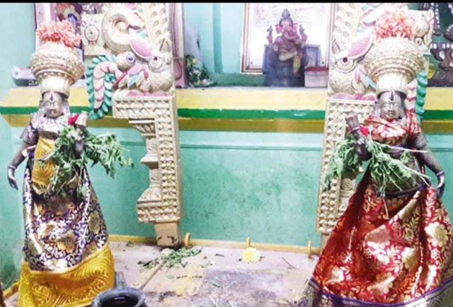 ARCOT : Theft of temple idol worth Rs 10 lakh