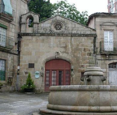 capilla de san cosme y san damian, donde se expone el Belen de Baltar (Ourense)