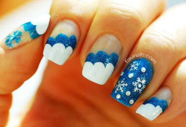 wonderful winter nail art ideas 2016
