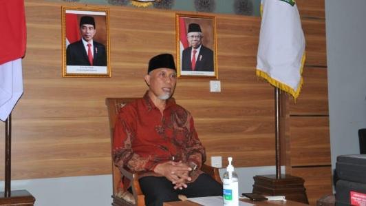 Gubernur Sumbar Ikuti Prosesi Doa untuk Indonesia Bersama Presiden RI