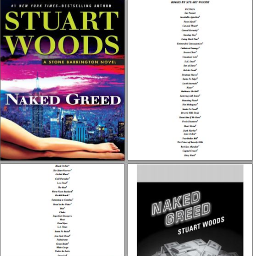 Naked Greed Stuart Woods kindle online free
