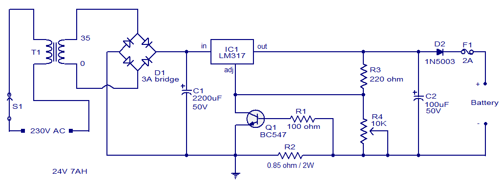 12v lead acid battery charger circuit diagram key, can you