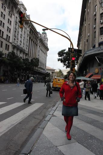 Francesca Gargallo en Buenos Aires, 2011 - Foto: Helena Scully